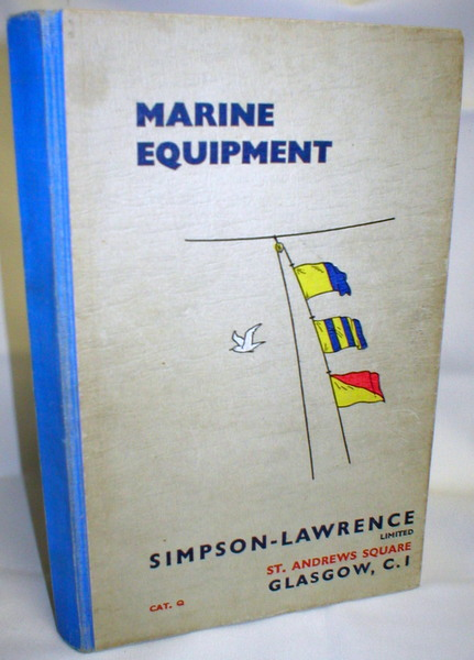Image for Marine Equipment; Catalogue Q
