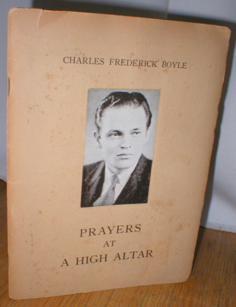 Image for Prayers at a High Altar; A Book of War Poems