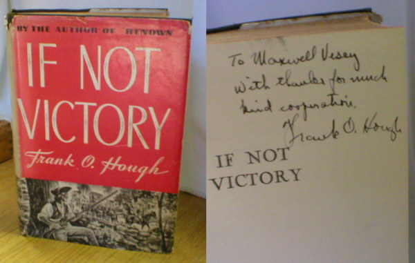 Image for If Not Victory (Signed)