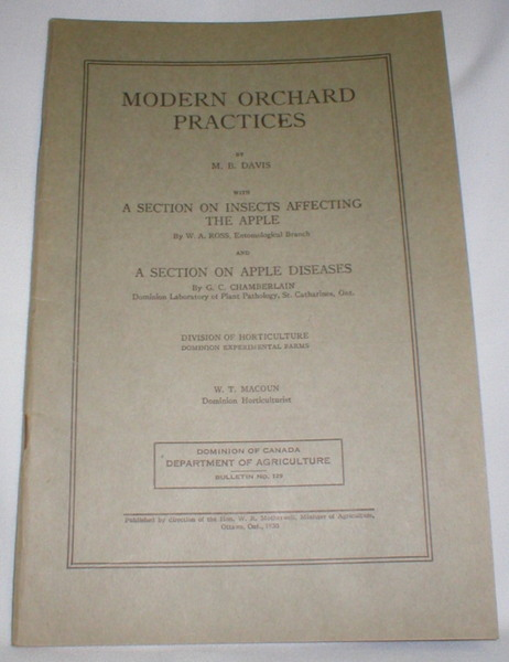 Image for Modern Orchard Practices
