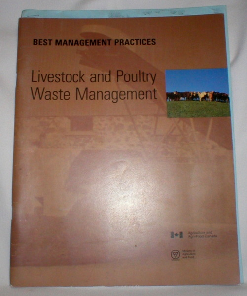 Image for Best Management Practices: Livestock and Poultry Waste Management