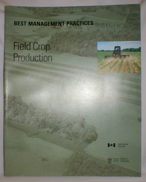 Image for Best Management Practices; Field Crop Production