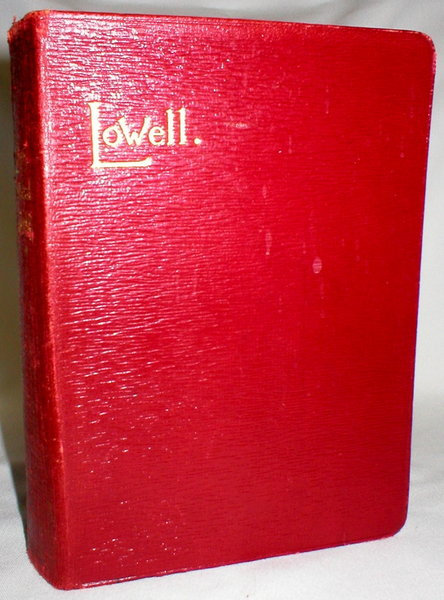 Image for The Poetical Works of James Russell Lowell