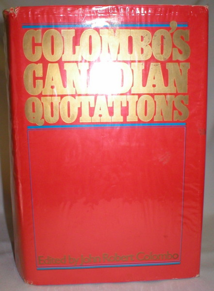 Image for Colombo's Canadian Quotations