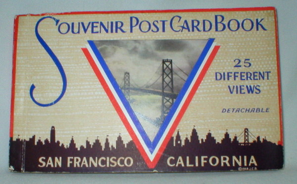 Image for Souvenir Post Card Book of San Francisco No. 4425 (25 Different Views)
