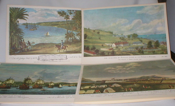 Image for Four Views of West Indies Ports on Menus from Incres Line, m/s Victoria