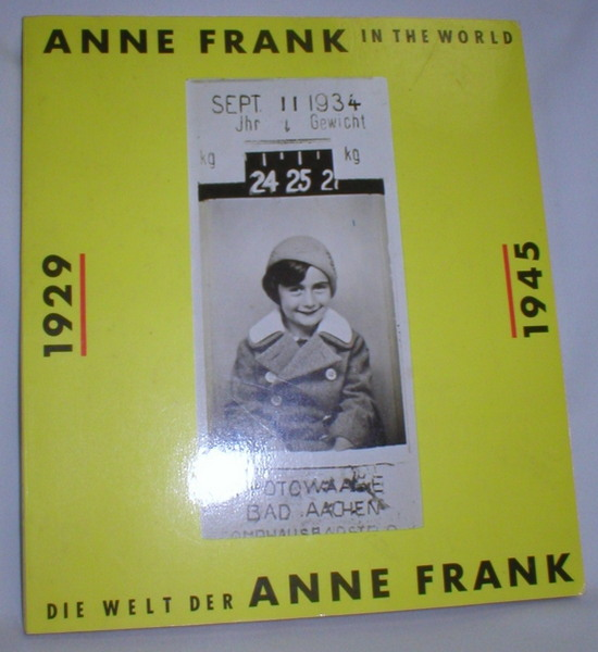 Image for Anne Frank in  the World 1929-1945