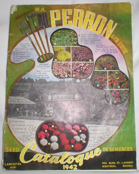 Image for W.H. Perron Seed Catalogue 1942