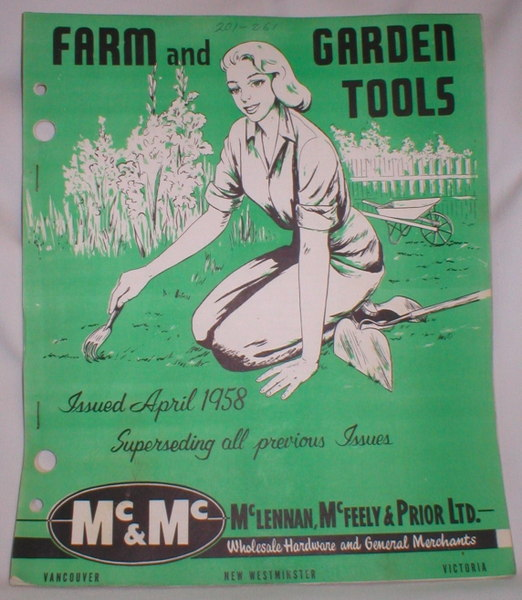 Image for Farm and Garden Tools; April, 1958
