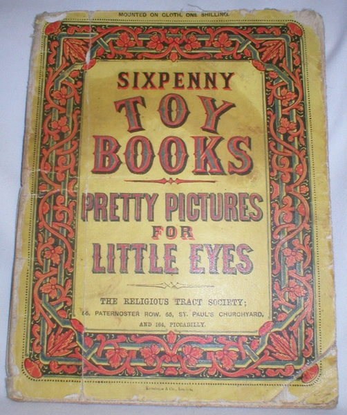 Image for Pretty Pictures for Little Eyes (Sixpenny Toy Books)