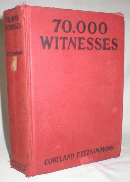 Image for 70,000 Witnesses; A Football Mystery