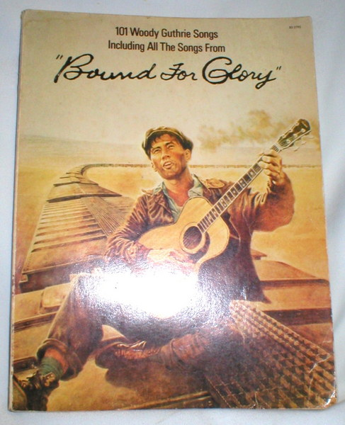 "Image for 101 Woody Guthrie Songs; ""Bound for Glory"""