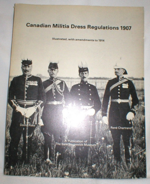 Image for Dress Regulations for the Officers of the Canadian Militia; Militia Department 1907