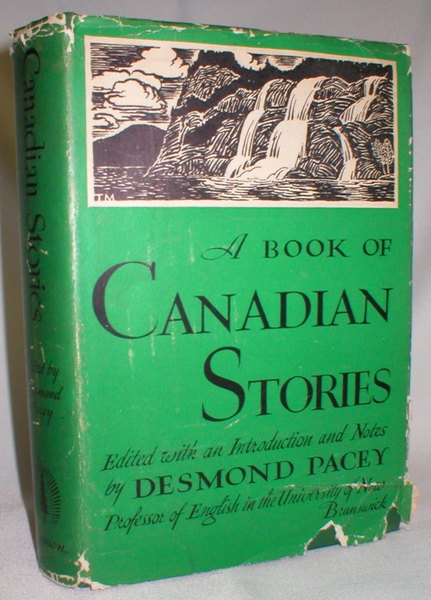 Image for A Book of Canadian Stories