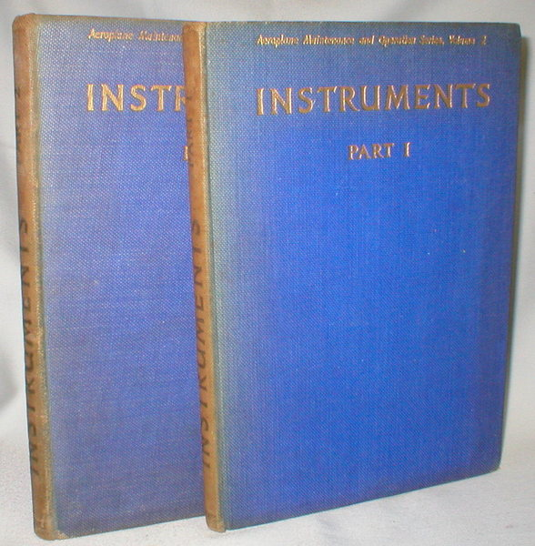 Image for Instruments, Parts 1 and 2 (Aeroplane Maintenance and Operation Series, Vol 2 and Vol 15; 2 Vol. set)