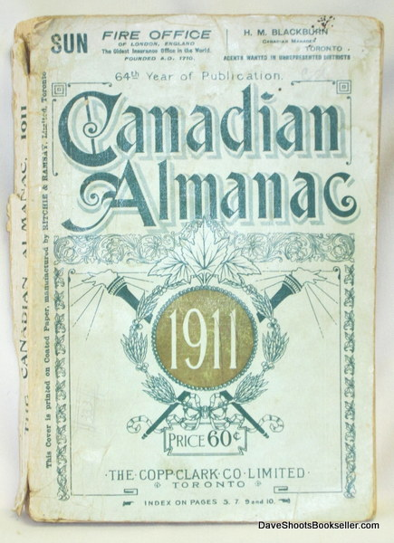 Image for The Canadian Almanac and Miscellaneous Directory for the Year 1911
