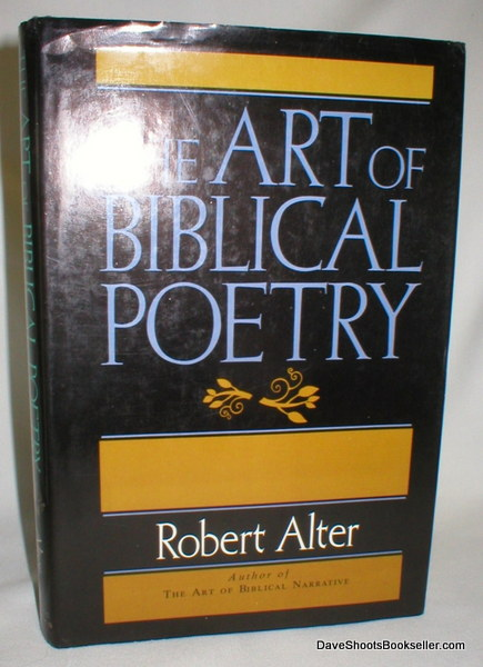 Image for The Art of Biblical Poetry