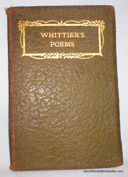 Image for The Early Poems of John Greenleaf Whittier