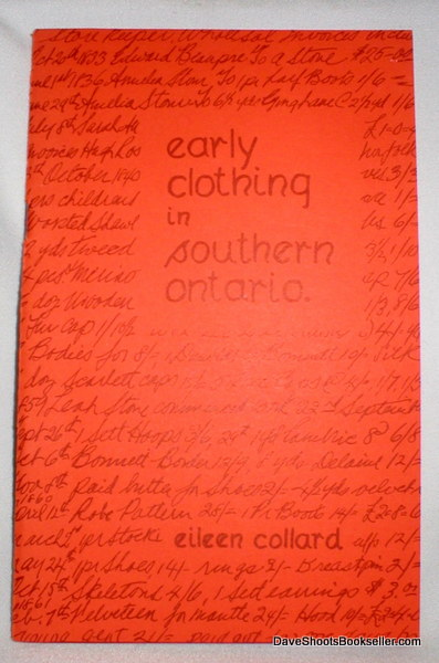 Image for Early Clothing in Southern Ontario
