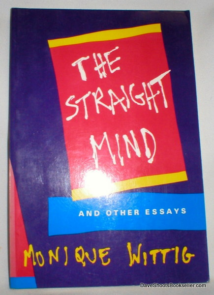 Image for The Straight Mind and Other Essays