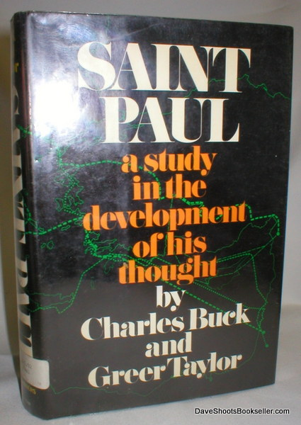 Image for Saint Paul; A Study in the Development of His Thought