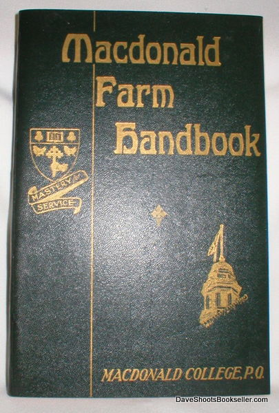 Image for Macdonald Farm Handbook