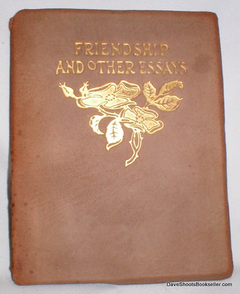 Image for Friendship and Other Essays