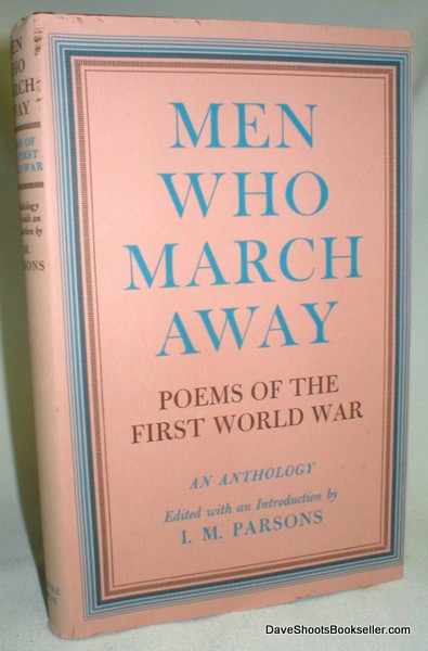 Image for Men Who March Away; Poems of the First World War