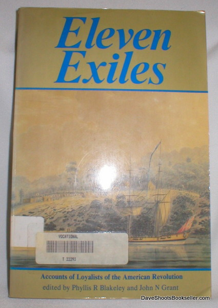 Image for Eleven Exiles; Accounts of Loyalists of the American Revolution