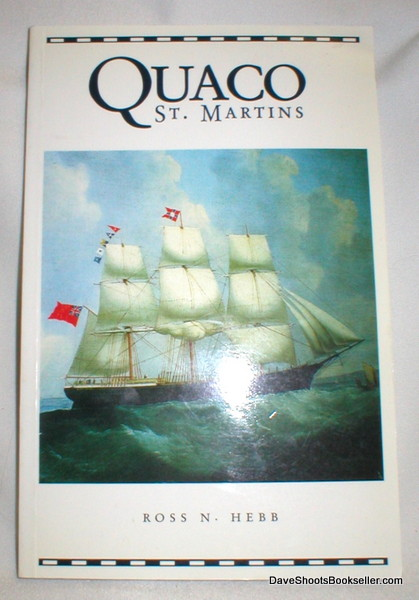 Image for Quaco-St. Martins; A Brief History 1784-1884