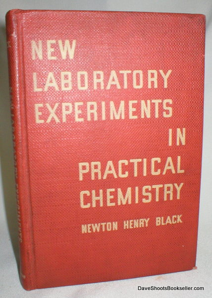"Image for New Laboratory Experiments in Practical Chemistry; To Accompany Black and Conant's ""New Practical Chemistry"""