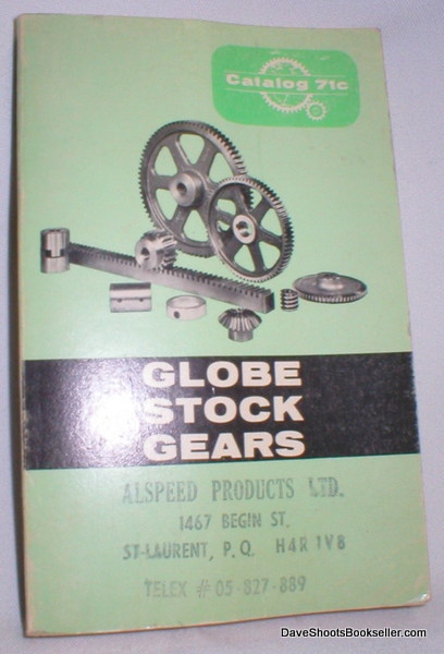 Image for Globe Stock Gears Catalog 71c