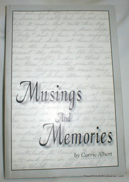 Image for Musings and Memories
