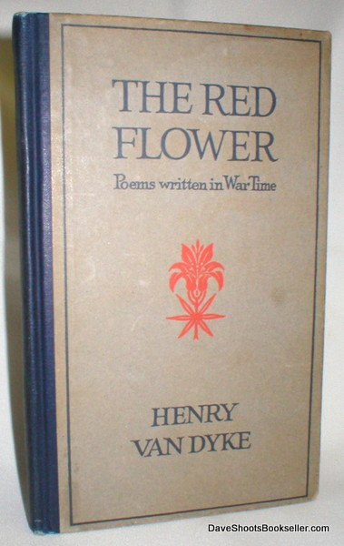 Image for The Red Flower; Poems Written in War Time