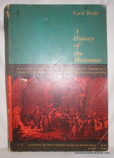 Image for A History of  the Marranos