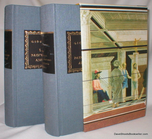 Image for Lives of the Painters, Sculptors, and Architects (Two Vol Set)