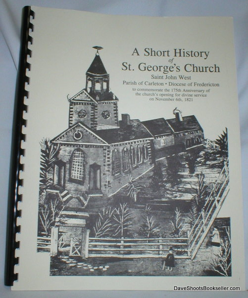 Image for A Short History of St. George's Church; Saint John West