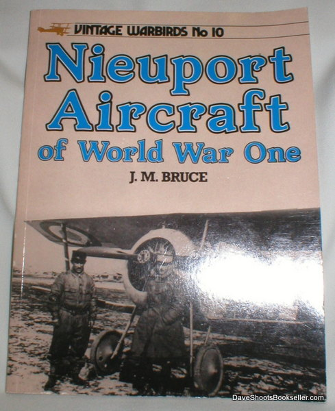 Image for Vintage Warbirds No. 10: Nieuport Aircraft of World War One