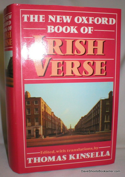 Image for The New Oxford Book of Irish Verse