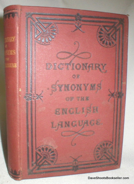 Image for A Dictionary of Synonyms of the English Language