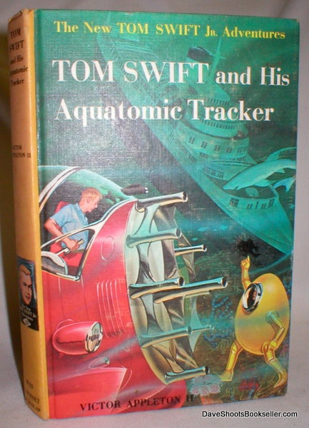 Image for Tom Swift and His Aquatomic Tracker, No. 23