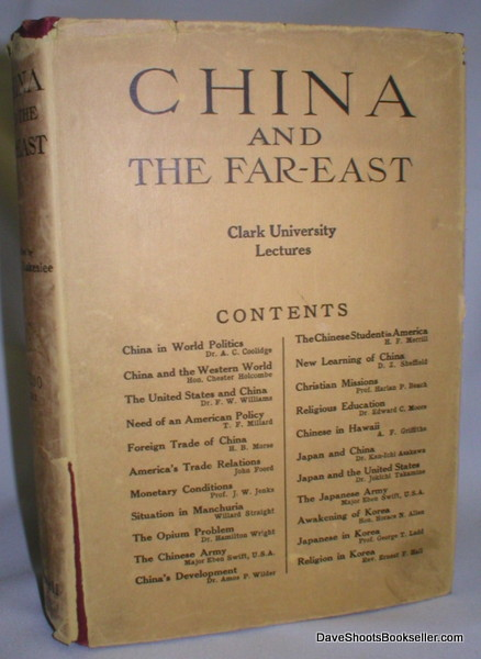 Image for China and the Far East; Clark University Lectures