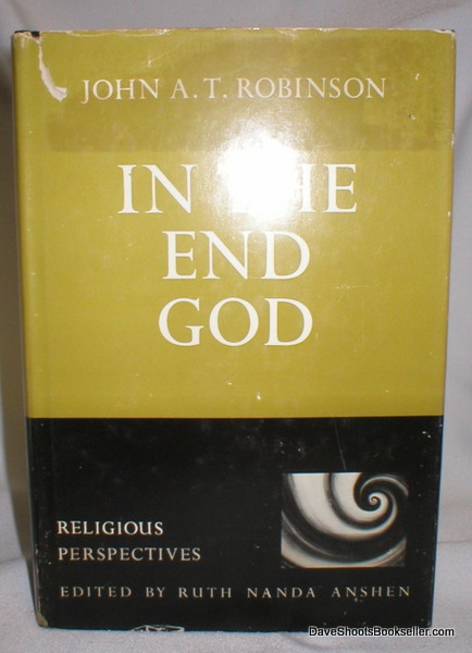 Image for In the End God; Religious Perspectives