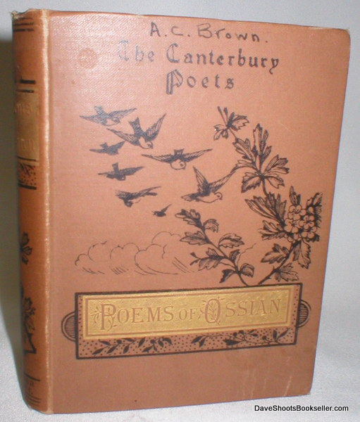Image for The Canterbury Poets; Poems of Ossian