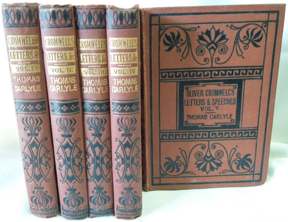 Image for Oliver Cromwell's Letters and Speeches; With Elucidations (5-Vol. Set)