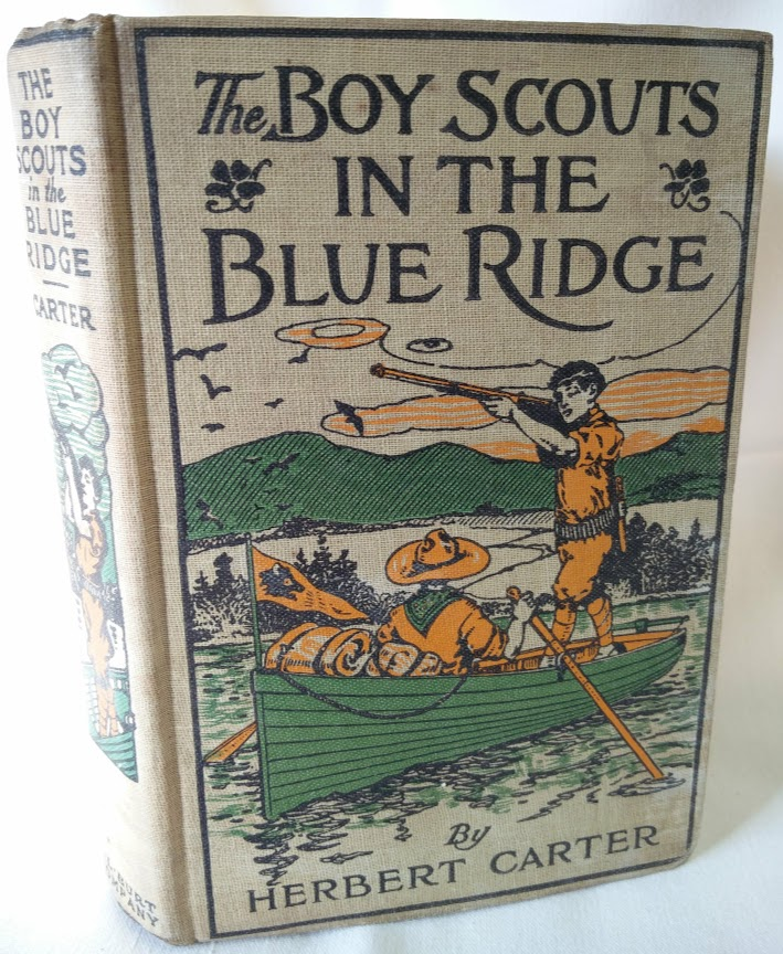 Image for The Boy Scouts in the Blue Ridge, or Marooned Among the Moonshiners
