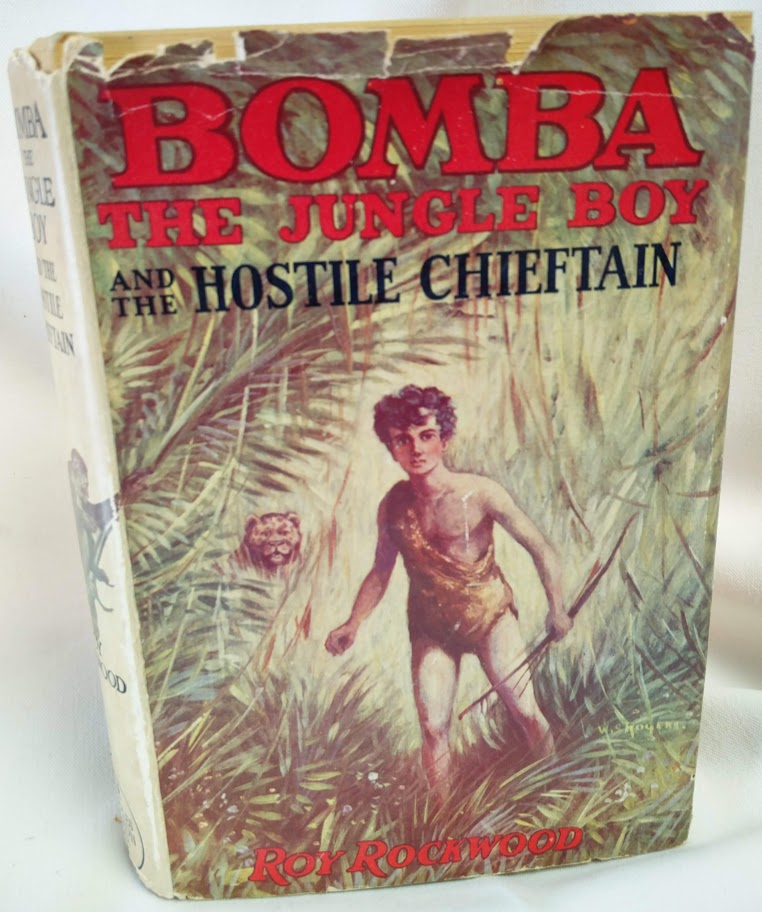 Image for Bomba the Jungle Boy and  the Hostile Chieftain