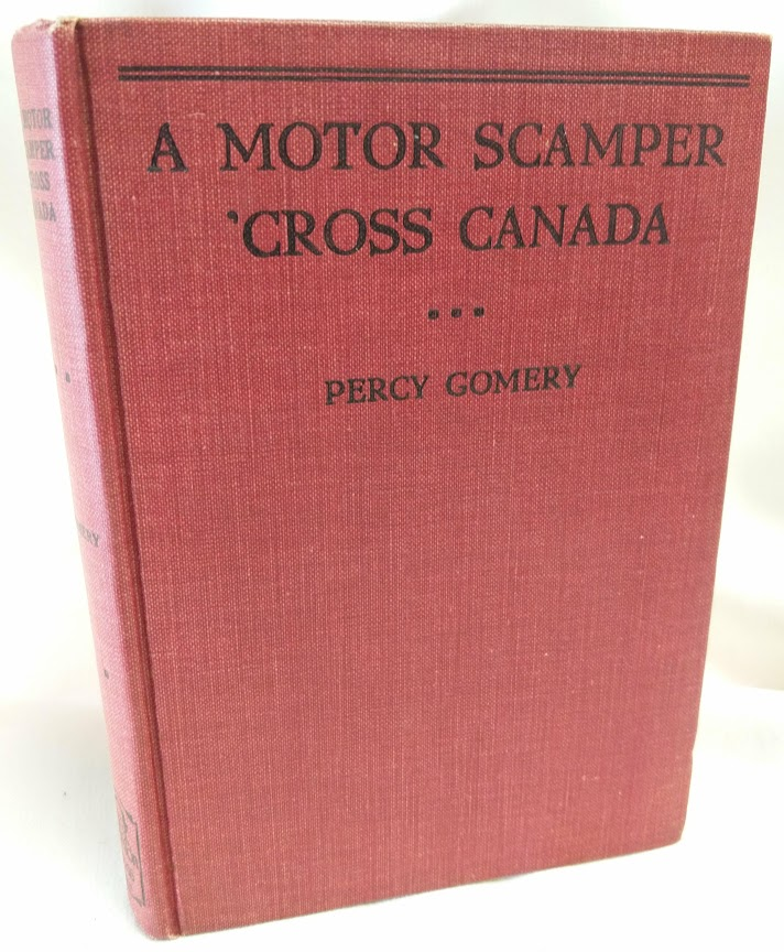 Image for A Motor Scamper 'Cross Canada (Signed)