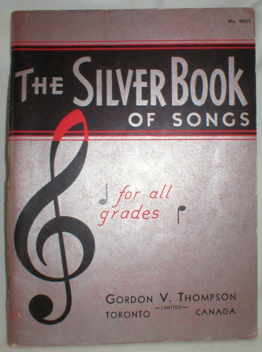 Image for The Silver Book of Songs for All Grades; No. 9021