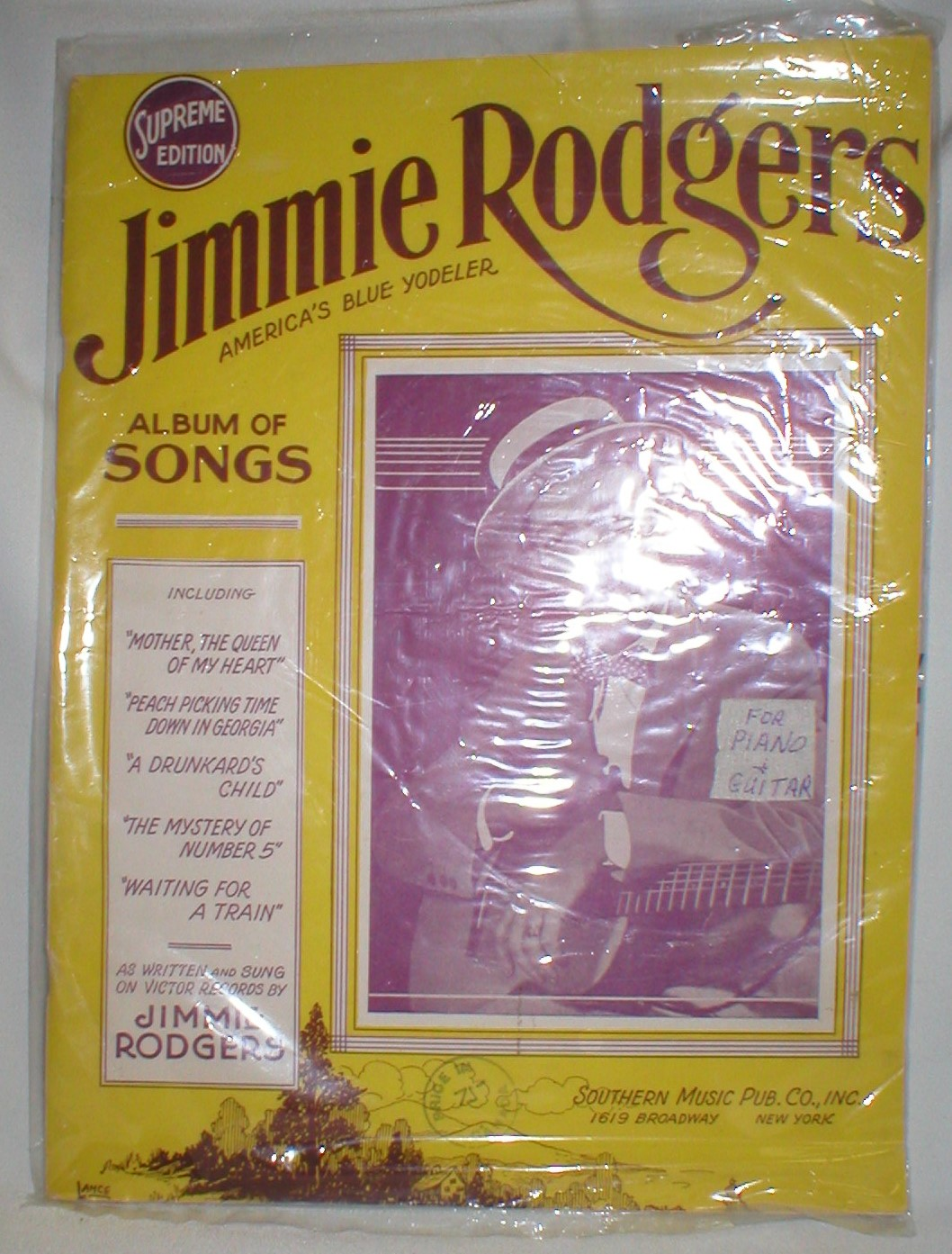 Jimmie Rogers Album of Songs